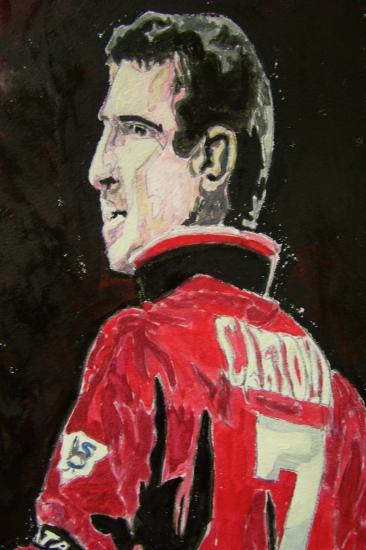 Eric Cantona by dabeechey